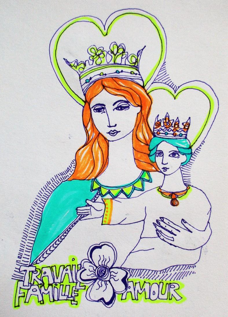Vierge-Enfant