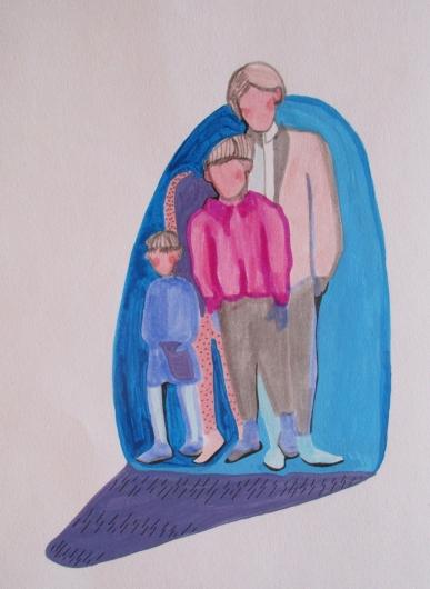 Portrait de famille et l'absent